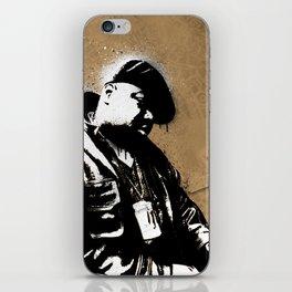 The Notorious B.I.G. - Biggie Smalls iPhone Skin