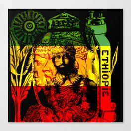 Haile Selassie Lion of Judah Canvas Print