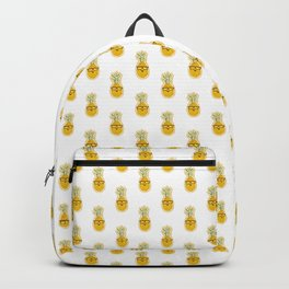 Funny Pineapple Face Backpack