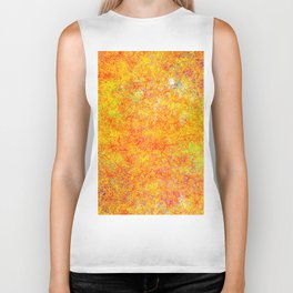 Abstract Net 1 Biker Tank