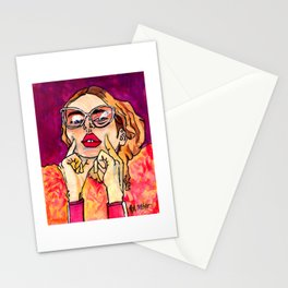I Was A Rock Star Once Stationery Cards