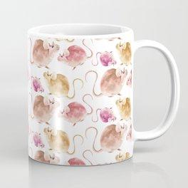 Little Mice Pattern Coffee Mug