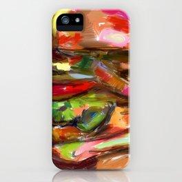 Hamburger Rainbow iPhone Case