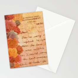 The Lonely Rose Garden Stationery Cards