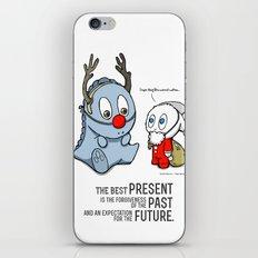 Present, Past, Future... iPhone & iPod Skin