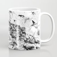 insects Mugs featuring Insects by Emile Denis