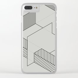 lines 1 Clear iPhone Case