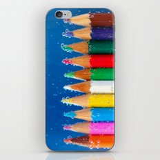 Pencils iPhone & iPod Skin