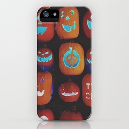 Jack O'Lanterns iPhone Case