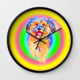 Puppy Power - Part II of Smile Wall Clock