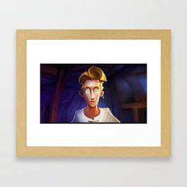 Guybrush Threepwood Framed Art Print