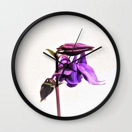 akelei Wall Clock