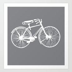 Reverse Bike Art Print