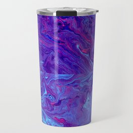 Paint Pouring 30 Travel Mug