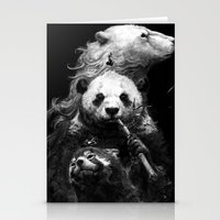 bears Stationery Cards featuring bears by kian02