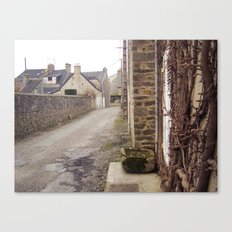 A small street Canvas Print