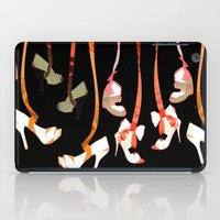 shoe iPad Cases featuring Shoe Strings  by Yaz Raja Designs