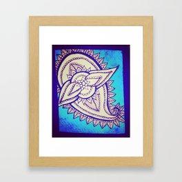 Pretty Blue Framed Art Print