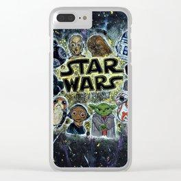 Star Warss Clear iPhone Case