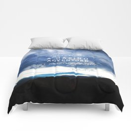 Life is either a daring adventure or nothing at all. - Helen Keller Quote Comforters