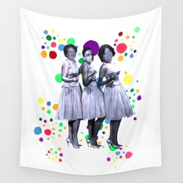 The Supremes: RBG, Sonia Sotomayor and Elena Kagan Wall Tapestry