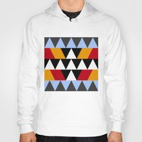 aztec Hoodies featuring Aztec by Chris Lang