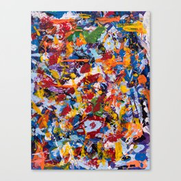 Crippled thoughts Canvas Print
