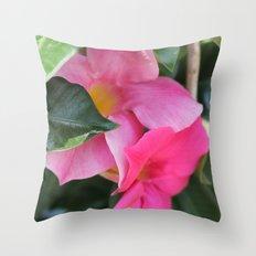 Hidden Beauty Throw Pillow