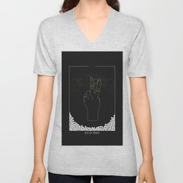 Ace of Rings - Tarot Illustration Unisex V-Neck