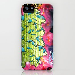 Delicate situation Kane graffiti lettering piece iPhone Case