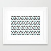 moby Framed Art Prints featuring Moby by Tradewind Creative