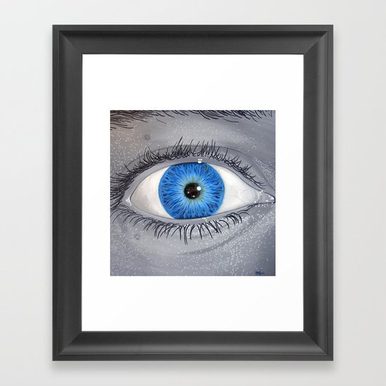 What Are You Looking At? Framed Art Print