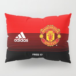 Fred - Manchester United Home 2018/19 Pillow Sham