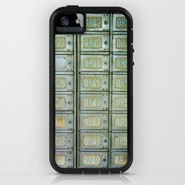 PO boxes iPhone Case