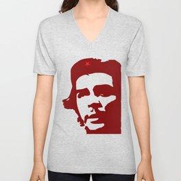 Ernesto Che Guevara the  hero Unisex V-Neck