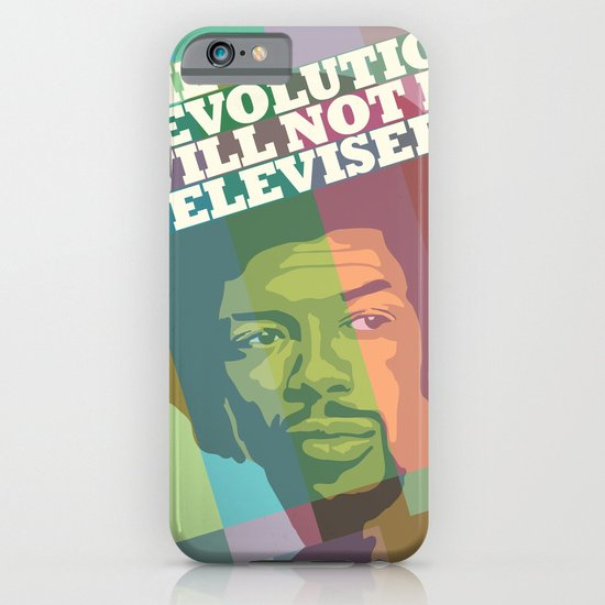 The revolution will not be televised iPhone & iPod Case