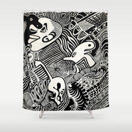 African Dream Shower Curtain