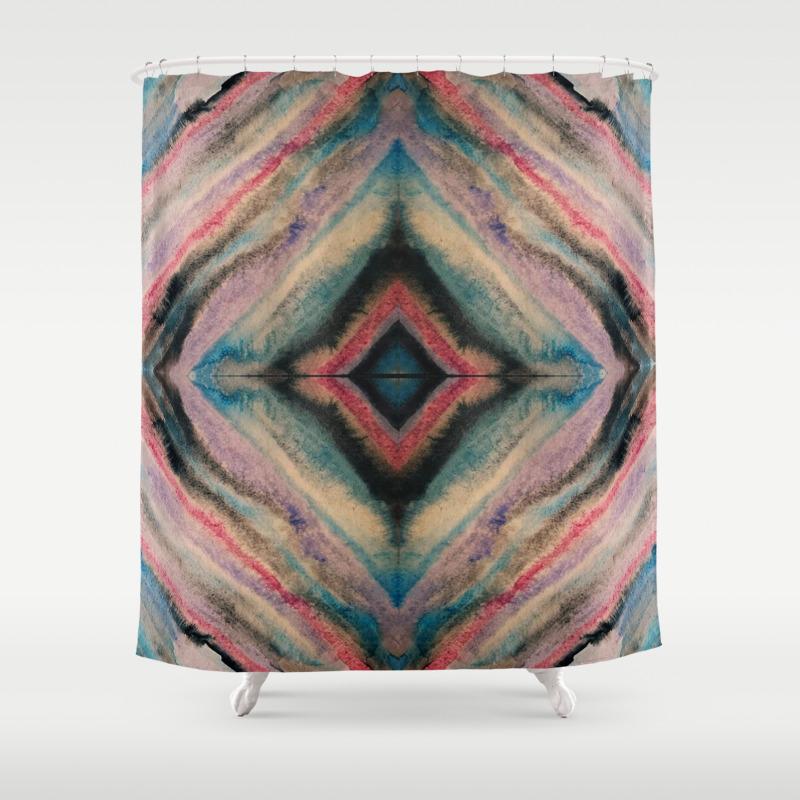 Simplicity Ii Shower Curtain by Kunstkessel CTN8334130