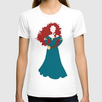 merida T-shirts featuring Merida by Dewdroplet