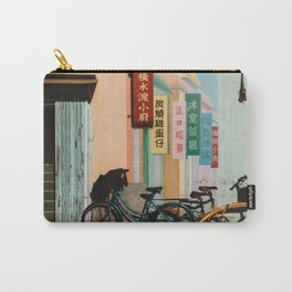 Bicycle Shadows Carry-All Pouch