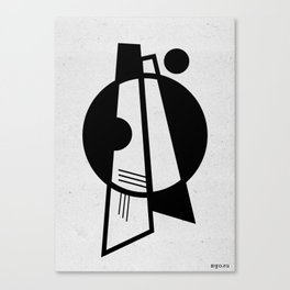 Geometrical compositions 1 Canvas Print