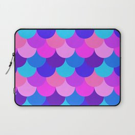 Scalloped Confetti in Electric Orchid Multi Laptop Sleeve