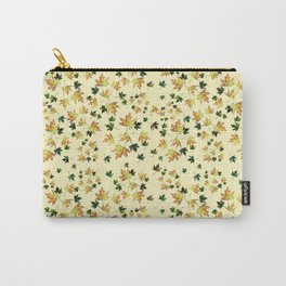 Fall wild nature, autumn leaves, orangeyellow Carry-All Pouch