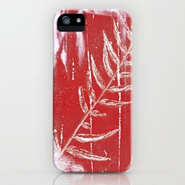 Bleed Through iPhone Case