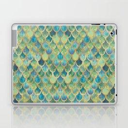 Mermaid Scales (green) Laptop & iPad Skin
