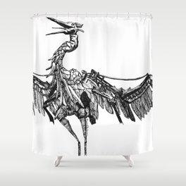 a marvelous creature Shower Curtain
