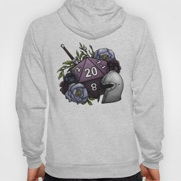 Fighter Class D20 - Tabletop Gaming Dice Hoody