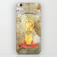 tool iPhone & iPod Skins featuring Omni Tool by AngoldArts