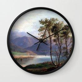 Robert S. Duncanson Loch Long Wall Clock