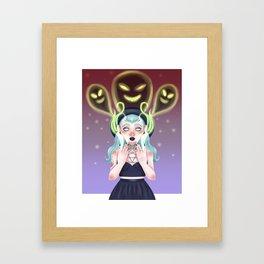 The Necromancer Framed Art Print